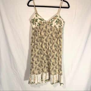 Free People Floral Print Dress Size 8